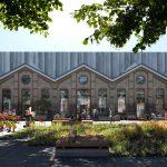 Studioninedots ontwerpt transformatie Bovenbouwwerkplaats Wisselspoor