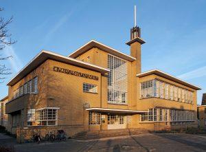 Stedelijk Gymnasium Homeruslaan, 1932 (Architect: Jan Planjer)
