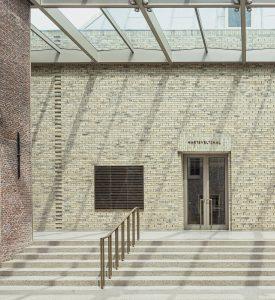 Museum de Lakenhal in Leiden: De metselaars hebben in twee richtingen aan draad gewerkt. Foto: HCVA.