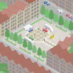 Shift architecture urbanism ontwerpt micromarkt tijdens corona-lockdown