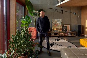 Marc Koehler in zijn Superloft. Foto Jordi Huisman.