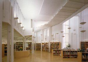 Vallila bibliotheek Helsinki. Juha Leiviskä