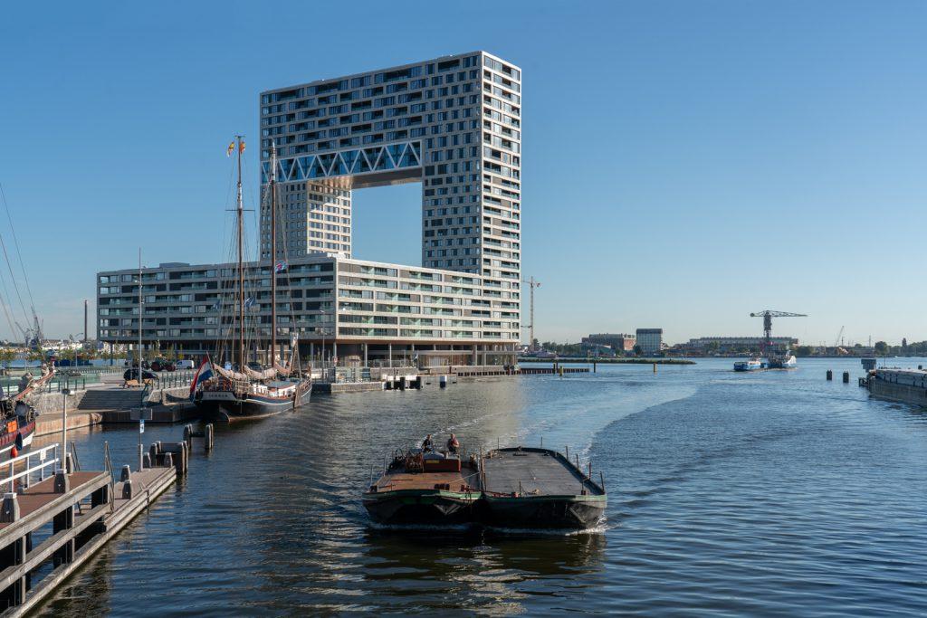 pontsteiger stemmen o Amsterdamse Nieuwbouwprijs 2020