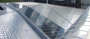Ridder heeft alle rvs daken van station Rotterdam CS gemaakt, met uitzondering van de punt van de stationshal. Ontwerp: Team CS, opgeleverd 2014