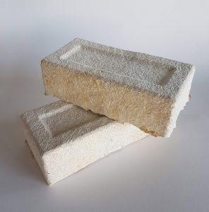 Bouwstenen van mycelium van biotechbedrijf Krown.