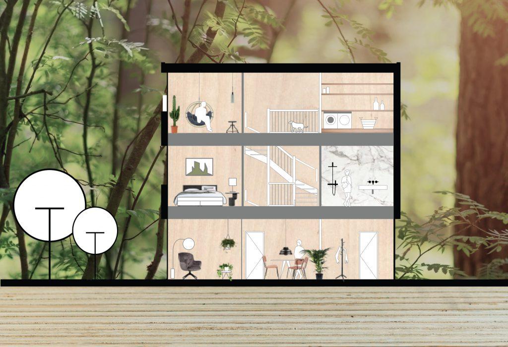 HOUTbaar: modulaire woningbouw in hout