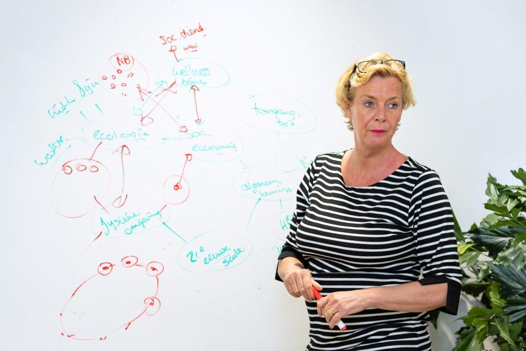 Sandra Baan wil gebouwde omgeving duurzaam vormgeven