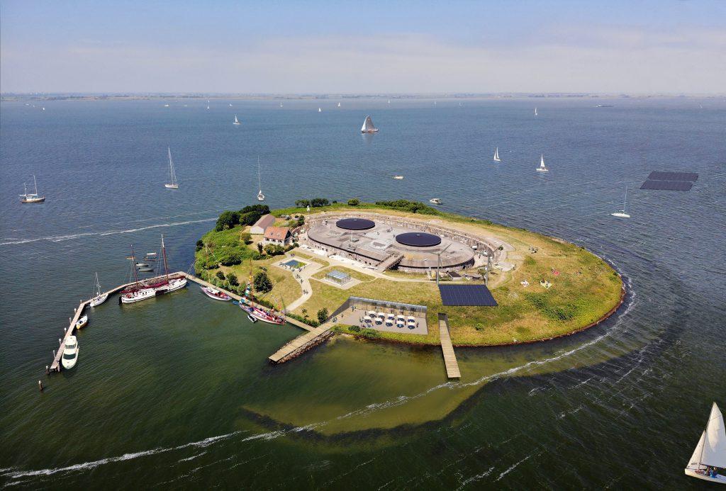 Paul de Ruiter Archititects onterpt nieuw entreegebouw Fort Pampu
