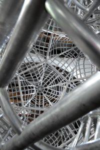 Ster volledig van aluminium gemaakt