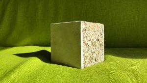 Econcreed, partner van IBI², introduceerde biobased bouwproducten, gebaseerd op reductie van cement. (Foto: IBI²)