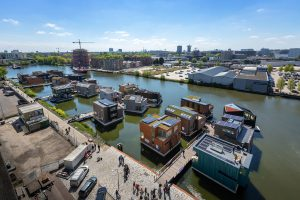 Schoonschip in Amsterdam Noord. Foto: Isabel Nabuurs