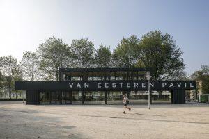 Winnaar 2018 in de categorie placemaking. Van Eesteren Paviljoen, Amsterdam. Foto: Luuk Kramer