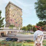 DP6 ontwerpt houten EnergieHotel Ede