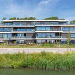 Licht en transparant appartementencomplex De Havenmeester