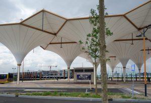 Overkapping busstation Leidsche Rijn Centrum
