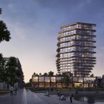 Woontoren Elements van 70 meter hoog