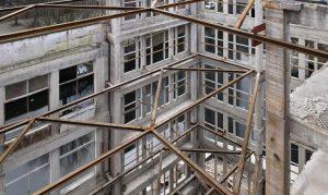 Renovatie winkels Hoogstraat Rotterdam. Foto: Kees Hummel