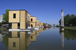 De Havenlofts in de Nassauhaven zijn een verrijking voor de Rotterdamse wijk Feijenoord