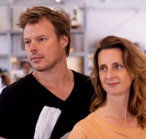 Ontwerpers Joost van Bleiswijk en Kiki van Eijk