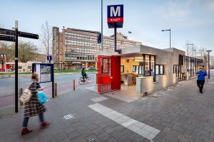 Metrostation Wibautstraat