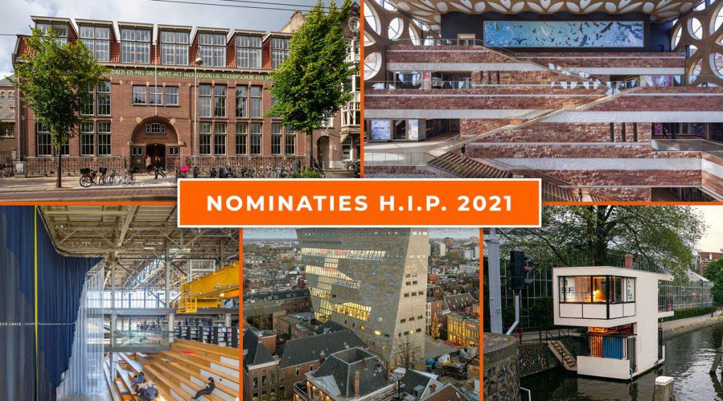 Vijf genomineerden Herengracht Industrie Prijs