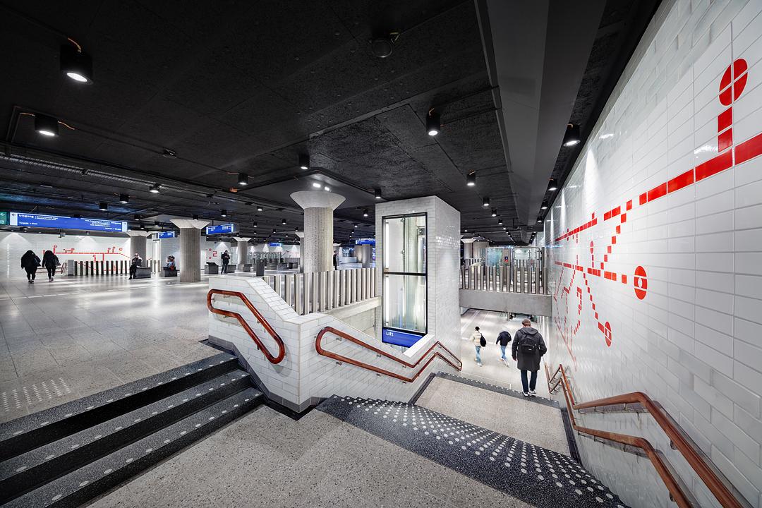 Boek over stationsrenovatie Metro Oostlijn - Architectuur.nl