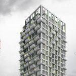 EVS ontwerpt woontoren met 216 sociale starterswoningen