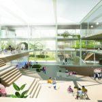 Winnend ontwerp campus CSG Reggesteyn door NOAHH en Braaksma & Roos
