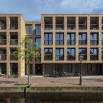 Prefab metselwerk toegepast in studentencomplex Leiden