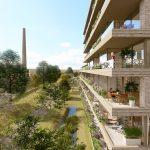 MIX architectuur ontwerpt groene wijk Eureka