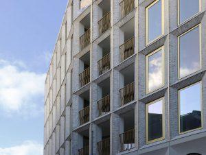 De appartementen Merckt zijn in 2020 bewoond
