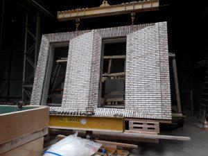 Sandwichelement voor gebouw Merckt bij Hibex