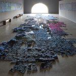 Nieuw werk van Claudy Jongstra in Museum De Lakenhal