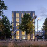 Thomas Widdershoven ontwerpt gestreept woonwerkgebouw