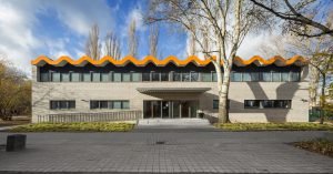 Sporthal Richard Wagner basisschool, Berlijn: Fotografie Florian Selig, Berlijn.