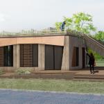 Studententeam VIRTUe presenteert duurzaam huis op zonne-energie