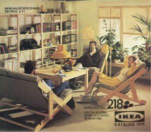 IKEA, Katalogcover, 1974 © Inter IKEA Systems B.V.