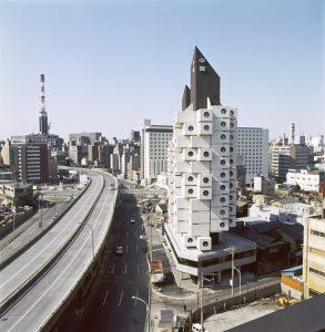 Kishō Kurokawa, Nakagin Capsule Tower, Tokio, Japan, 1970–72 Photo: © Tomio Ohashi