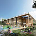 Hooper Architects ontwerpt nieuw zwembad Drachten
