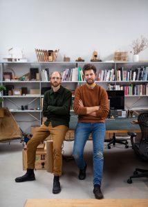 Niels Groeneveld en Raoul Vleugels. Foto: Wouter Kooken