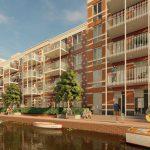 Start bouw jongerenwoningen Houthaven