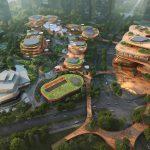 Bouw terrasvormige wijk in Shenzhen van start