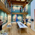 Winkel getransformeerd tot Museum of Comic Art