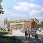 Bouw van duurzame gymzaal Heijplaat