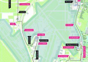 Fietsroute Schiphol. Foto: Podium voor architectuur Haarlemmermeer en Schiphol