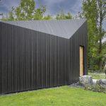 Prismavormige Rensenhut van duurzaam zwart hout