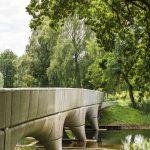 Inhuldiging 3D-betongeprinte fietsbrug Nijmegen